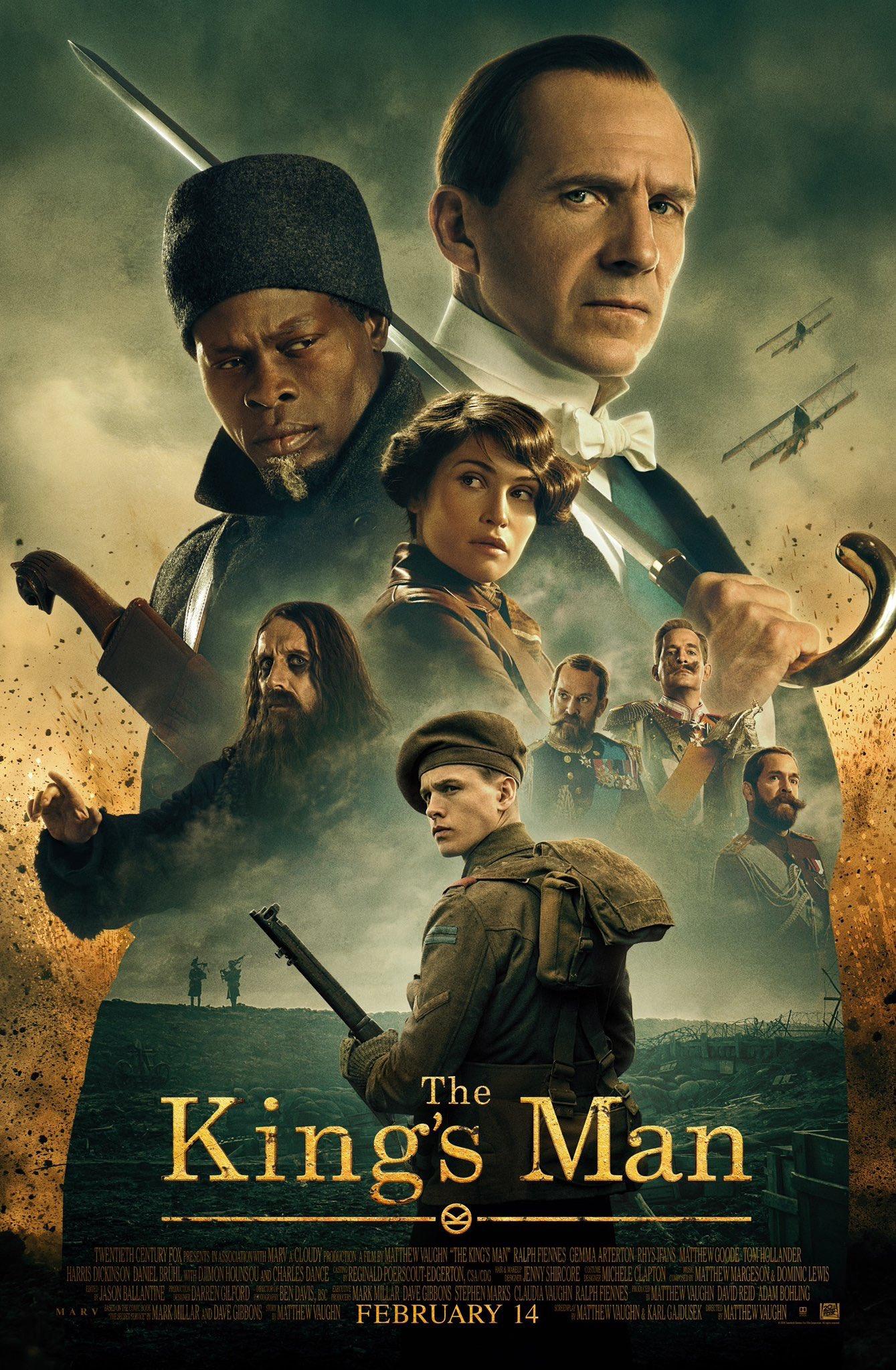 King's Man: A Origem   Prequel da franquia ganha novo trailer e pôster