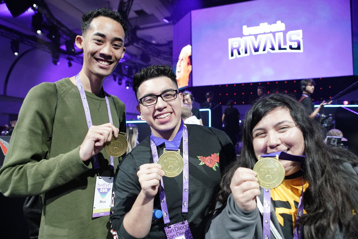 Thanks for joining us at #TwitchRivals Arena at #TwitchCon & around the world on stream! Until next time, catch up on everything you missed: Fortnite link.twitch.tv/TCFN19 LoL & TFT link.twitch.tv/TCLoL Apex Legends link.twitch.tv/TCApex