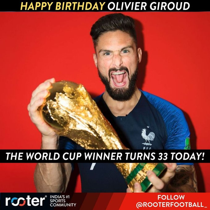 Happy Birthday, Olivier Giroud!