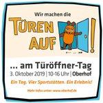 Image for the Tweet beginning: Am Donnerstag (3.10.19) kommt die