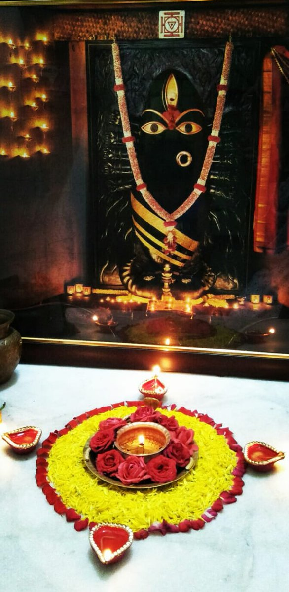 #HappyNavratri to all of you. Usually I don't ask anything from Maa #lingabhairavi but this time I dedicate the 9 days for #mothercauvery and the success of #CauveryCalling 🙏🙏🙏 Shambho!!!
