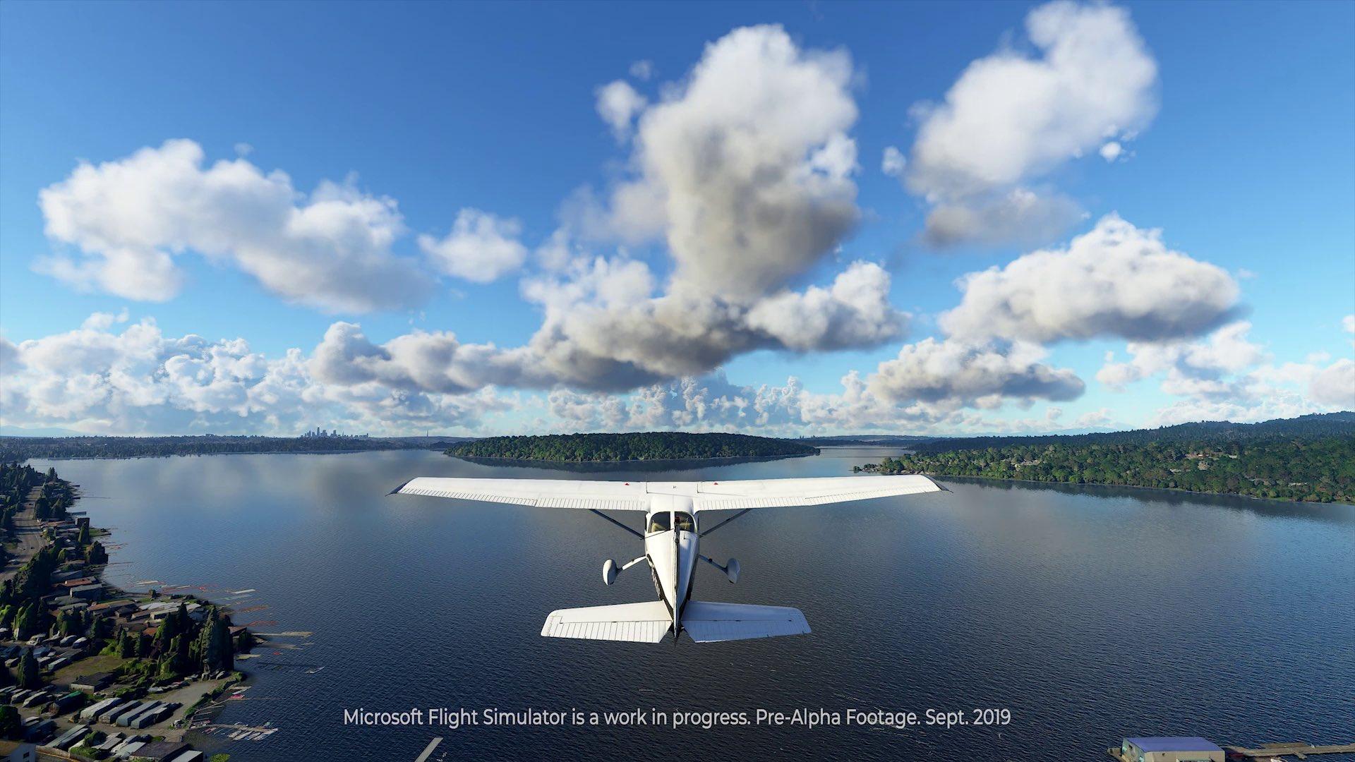 Microsoft Flight Simulator muestra un primer gameplay desde la alpha