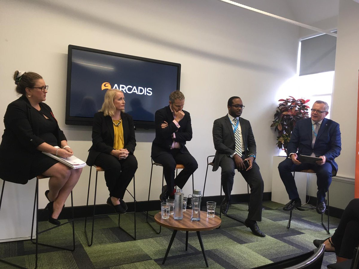 Great line up for @ArcadisUK's event at #CPC2019 on placemaking, improving quality of life and building communities
