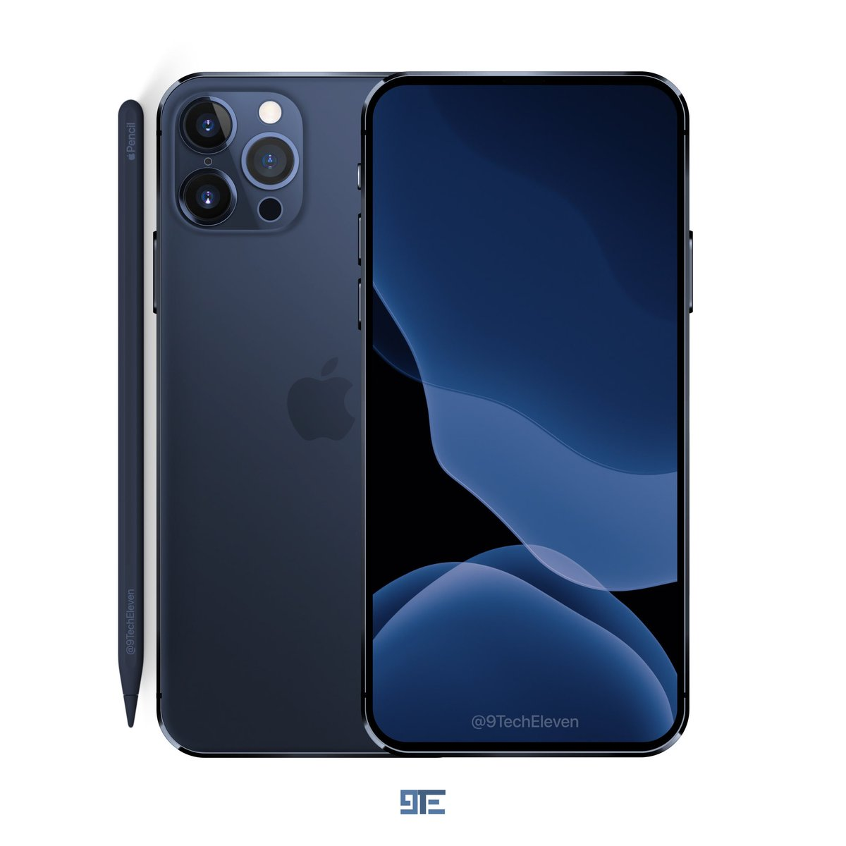 9techeleven On Twitter 2020 5 4 Iphone 12 Pro In Mist Blue Color With No Notch Had Told Wouldn T Make Another Concept Until Sep Goes By But Have Been So Tempted To Make