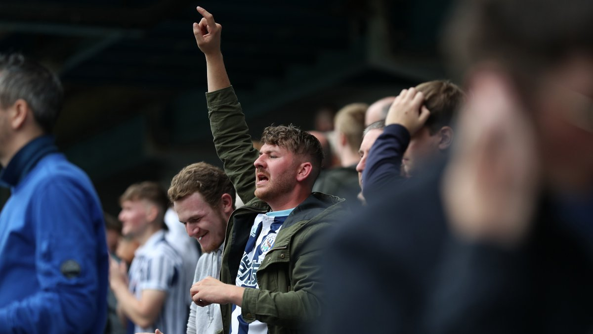 🔙 on the road. Another away day. Another exceptional effort from you guys. Have a safe trip up to Leeds later, Baggies. #LEEWBA | #WBA