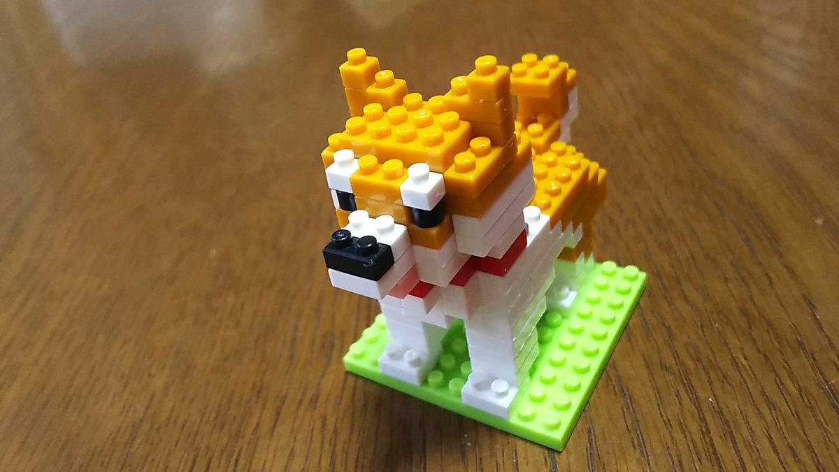 test ツイッターメディア - 明日3時起きだわ。 もぅ寝ねば・・・。  それにしても #ダイソー の #柴犬。 クォリティ高っ!!  ※女房制作 https://t.co/NsMECqpRa1