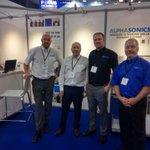 Image for the Tweet beginning: Last week, the Alphasonics team