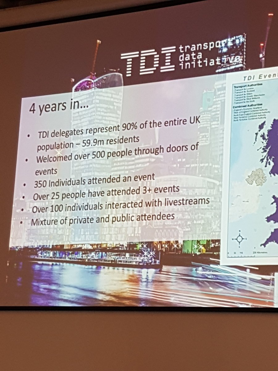 We are proud to have been a part of launching @TDIForum which has evolved into a fantastic vehicle for building scale and driving industry change.