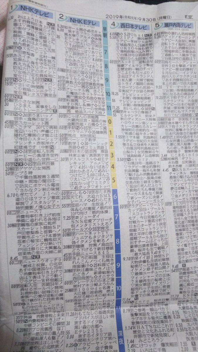番組 表 岡山 テレビ