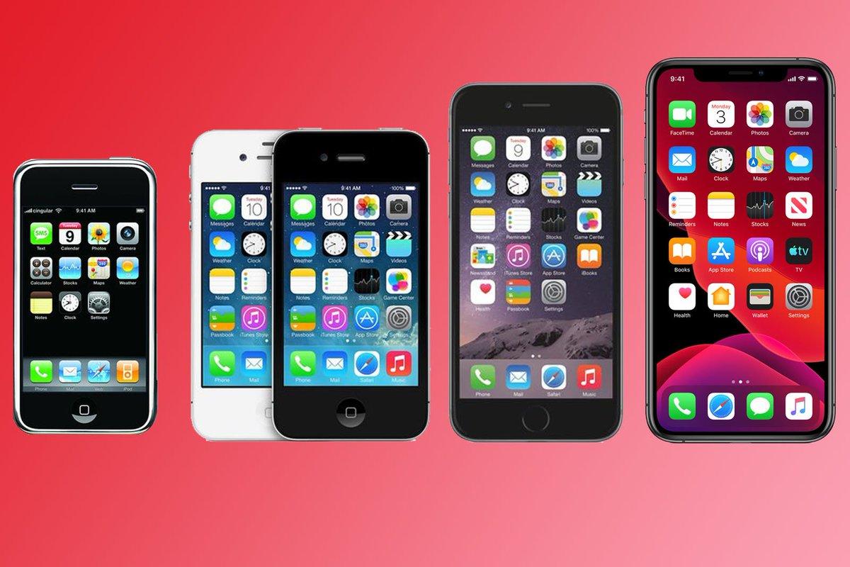 все модели айфонов с картинками и названиями частых проблем, которой