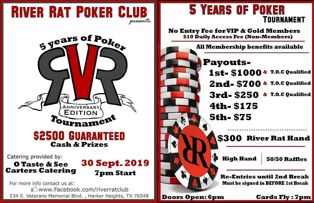 Poker river rat