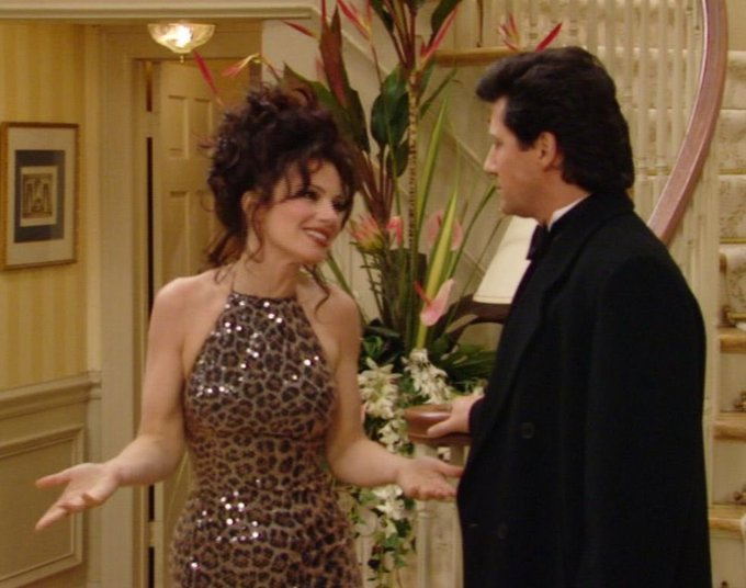 Happy Birthday to the one and only Ms. Fran Drescher, the Nanny, the woman who put us all on to leopard print
