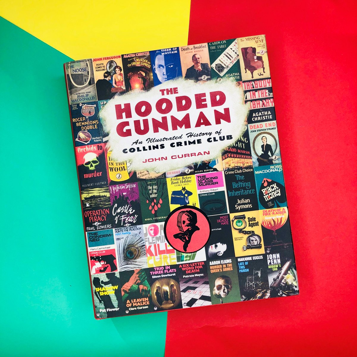 'Astounding... Whether you love dust jacket artwork, publishing history or are simply a fan of vintage crime fiction, this is the book for you' - CrossExaminingCrime smarturl.it/HoodedGunmanHB #TheHoodedGunman