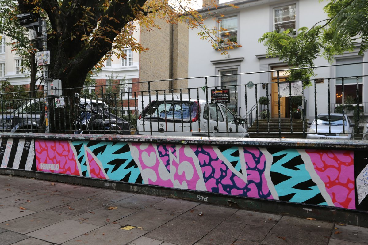 In the third instalment of our 'Abbey Road' wall takeover, weve invited artist and designer @MisterPenfold to add his abstract take on 'I Want You (Shes So Heavy)' to the space. Read about his inspiration for the piece: abbeyroad.com/news