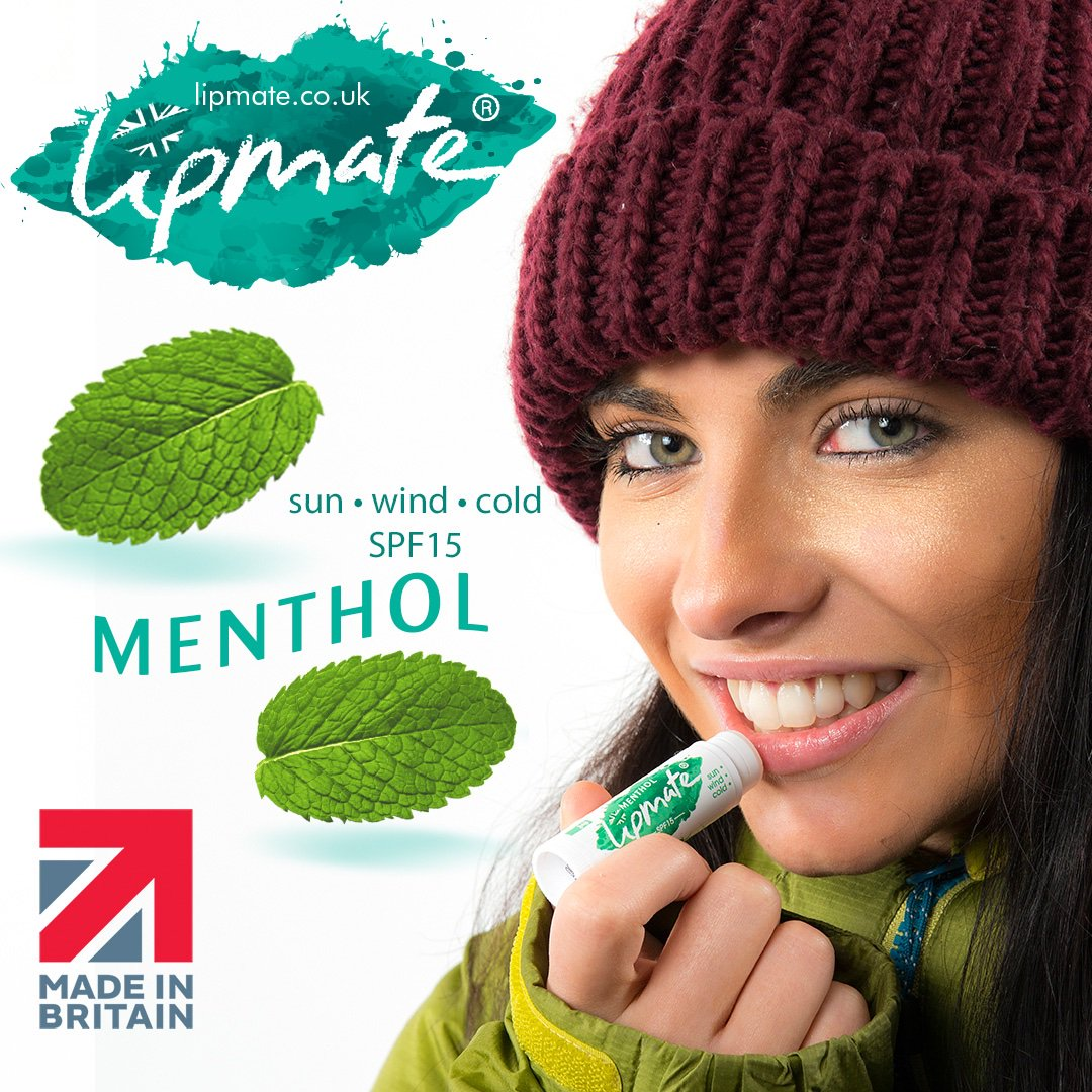 Menthol has a great cooling effect which helps ease discomfort of dry lips. With the weather turning cooler, many people start to suffer from dry or chapped lips.  https://www.lipmate.co.uk/buy-lipbalm-direct/  … Free Delivery #DryLips  #ChappedLips  #SoreLips  #Winter  #Cold  #Weather  #Health  #Beauty  #Menthol