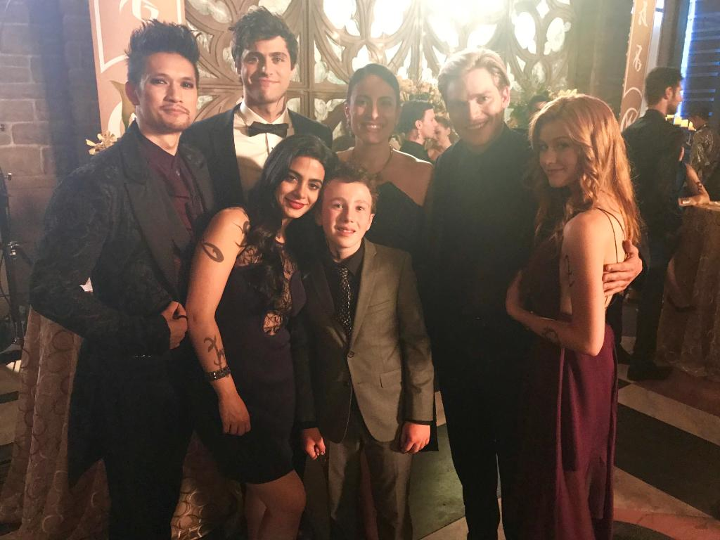Frameworthy. Behind the scenes of #Malecs wedding. #Shadowhunters