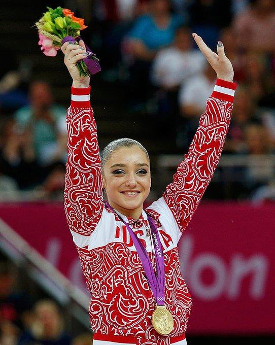 Happy Birthday to two time Olympic Champion Aliya Mustafina