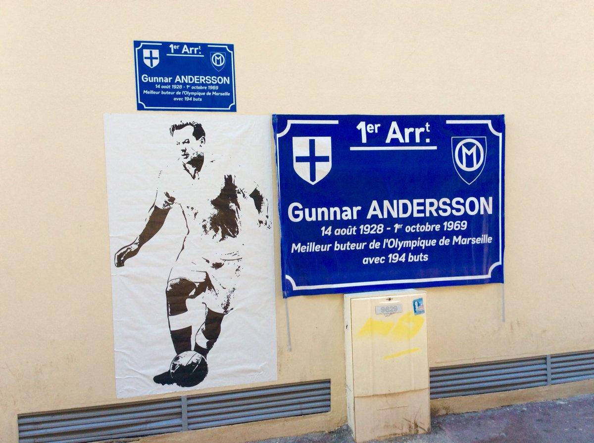 hommage à Gunnar Andersson