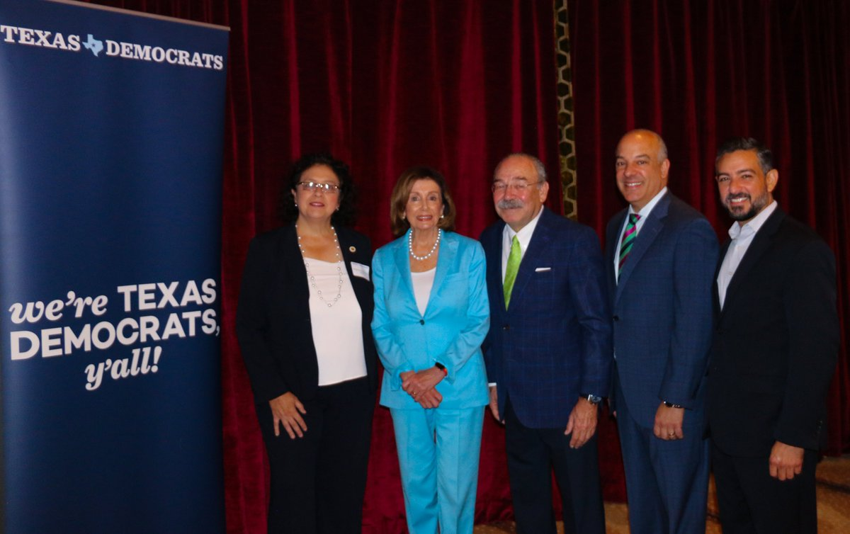 @PhilMurphyNJ @NJDSC Also, thank you Chairman @HinojosaTX, @TexasDemocrats, along with Reps. @CeliaIsrael and @CesarJBlanco, for your invitation to speak before energized Texas Democrats who are clearly ready to turn Texas Blue in 2020! –NP