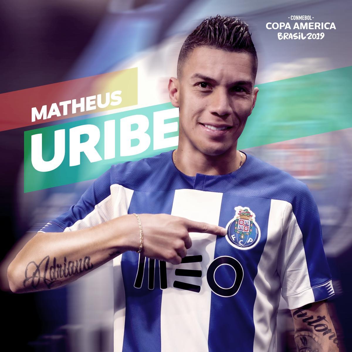 Fuimos testigos del talento de @matheus_uribe8, luego de la #CopaAmérica el viejo continente es testigo de su magia. 🧙