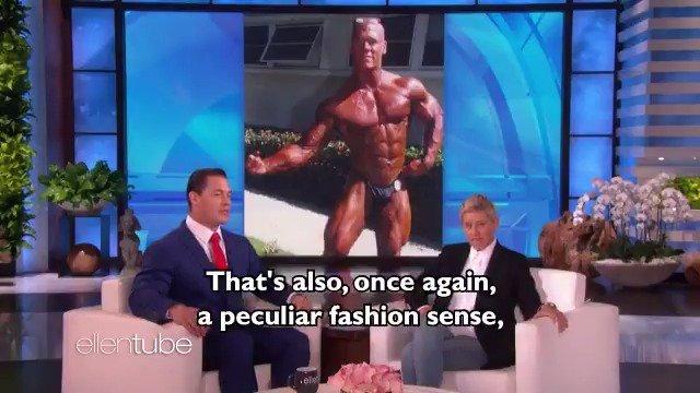 .@JohnCena's fashion inspiration is gonna make you jump.