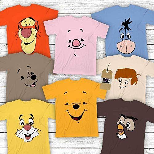 Disney Winnie The Pooh Owl Rabbit Christopher Robin Pin Back Button Piglet Magnets Mirrors Kanga Tigger Eeyore Roo