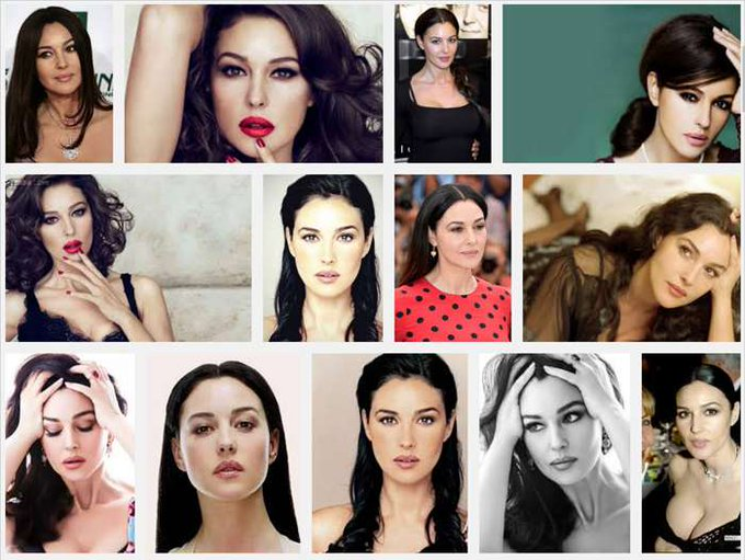 Happy Birthday, Monica Bellucci ..... September 30, 1964