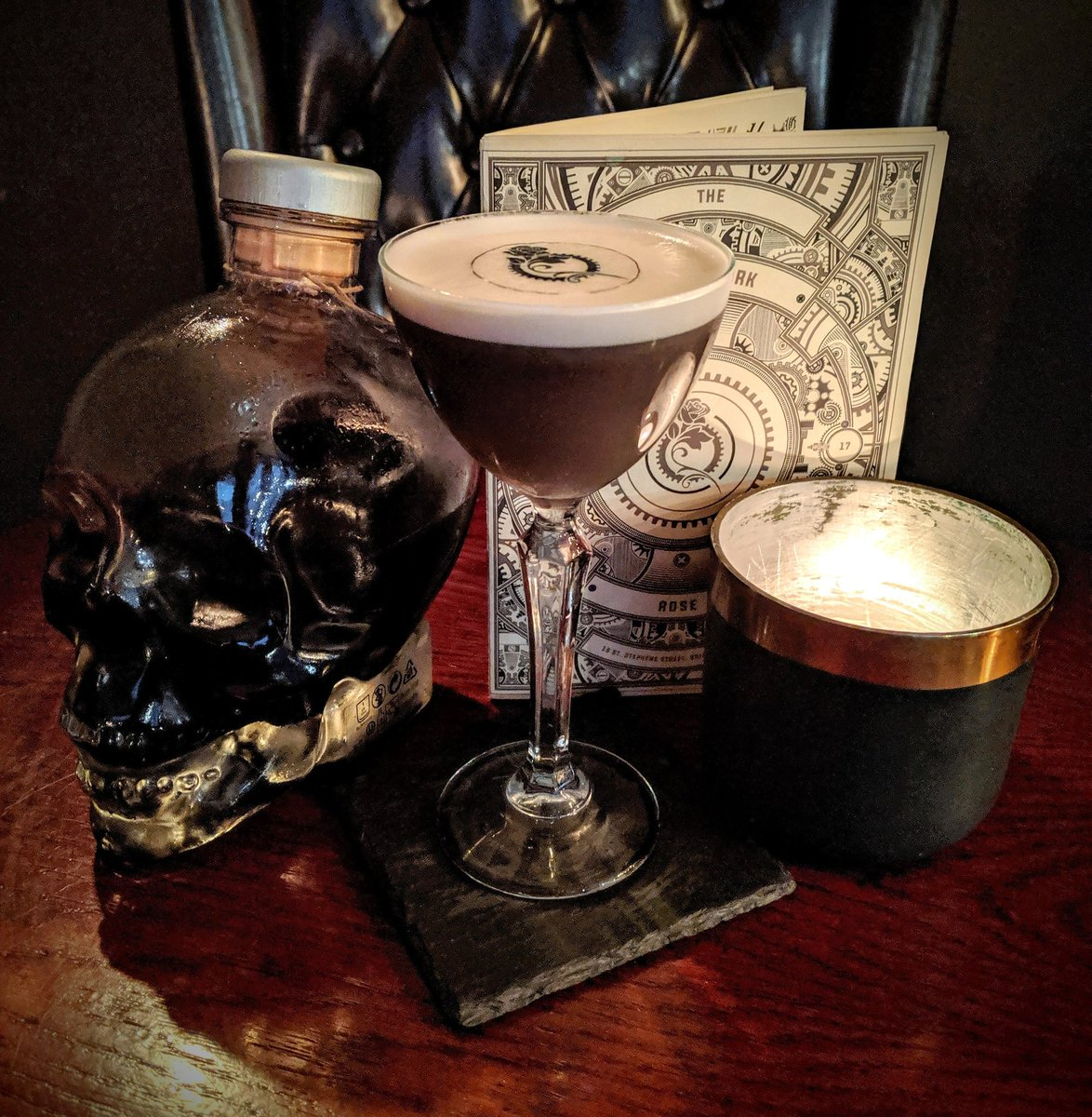 #Steampunk ⚙️ Awesome of the Day: New Menu at #ClockworkRose #Cocktail 🍸 #Bar in #Bristol #England 🇬🇧 via @ClockworkRoseCo #SamaPlaces 🗺️