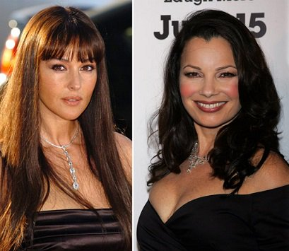 Happy Birthday !  Monica Bellucci  and  Fran Drescher