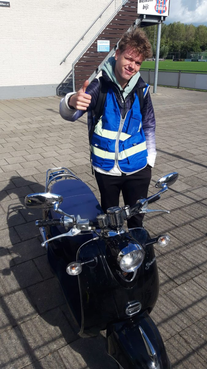 test Twitter Media - Wessel Beer, HEBBES! ;-)  Van harte gefeliciteerd met het behalen van je scooter-rijbewijs. Goed gedaan! https://t.co/4wPVG8xn3R