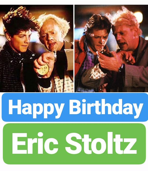 HAPPY BIRTHDAY  Eric Stoltz