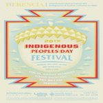Image for the Tweet beginning: Indigenous Peoples Day Festival