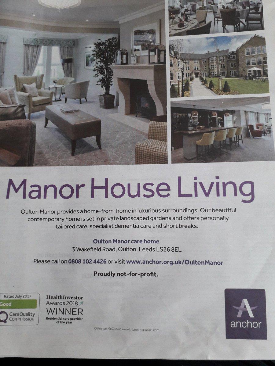 Oulton Manor, Leeds Twitter post