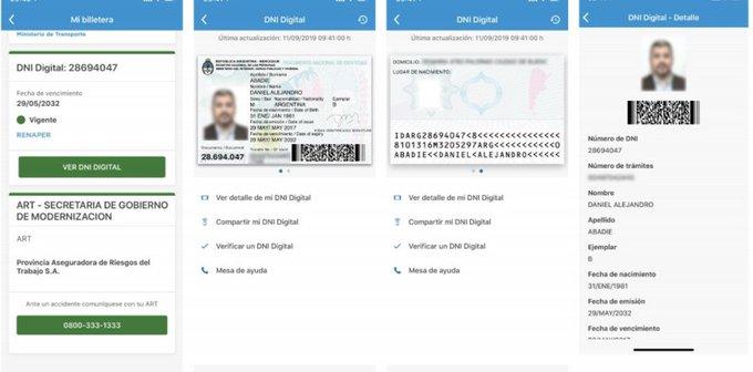 Ya se puede gestionar la versión digital del DNI