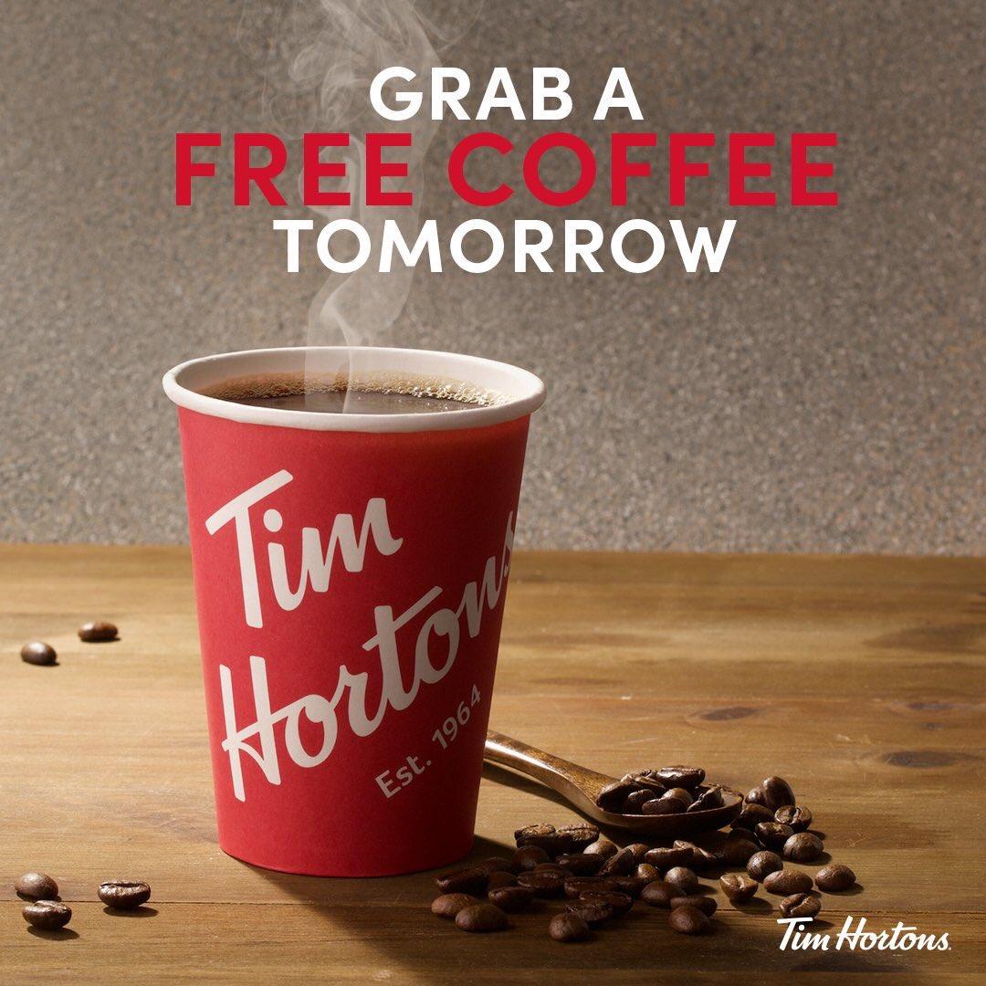 انواع قهوة تيم هورتنز