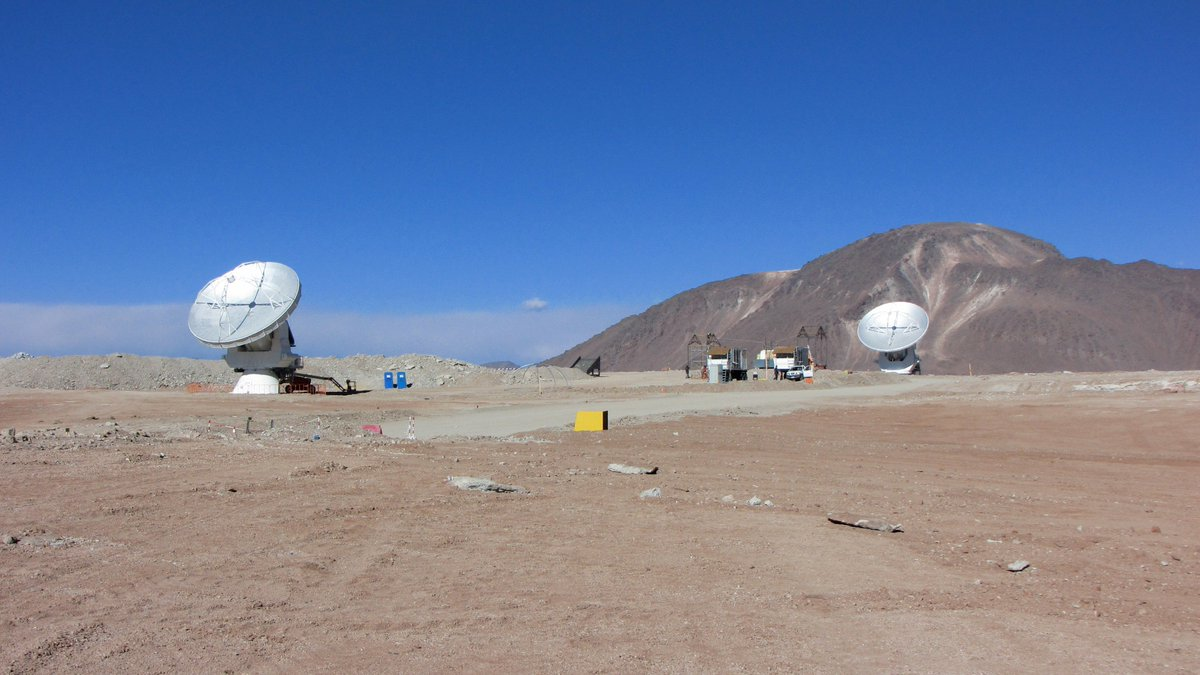 This month marks ten years since the first two antennas were established on the AOS, with first fringes achieved on 21 October. Congratulations to the whole team for building ALMA to the point where it has the largest impact of any ground-based observatory. #TheNRAO @almaobs