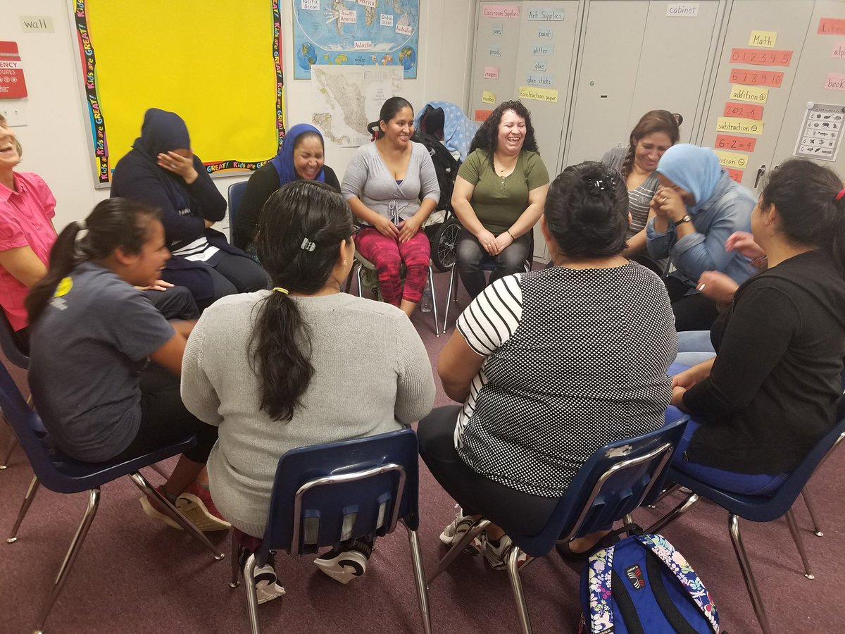 Our Monday Morning mixer brought lots of smiles on this rainy day. Using sign language to communicate. <a target='_blank' href='http://twitter.com/APS_ESOL'>@APS_ESOL</a> <a target='_blank' href='http://twitter.com/APS_OEE'>@APS_OEE</a> <a target='_blank' href='http://twitter.com/APS_CTAE'>@APS_CTAE</a> <a target='_blank' href='http://twitter.com/IsabelMessmore'>@IsabelMessmore</a> <a target='_blank' href='http://twitter.com/judy_ab'>@judy_ab</a> <a target='_blank' href='http://twitter.com/APS_LSRC'>@APS_LSRC</a> <a target='_blank' href='https://t.co/SGbkr2T4wC'>https://t.co/SGbkr2T4wC</a>