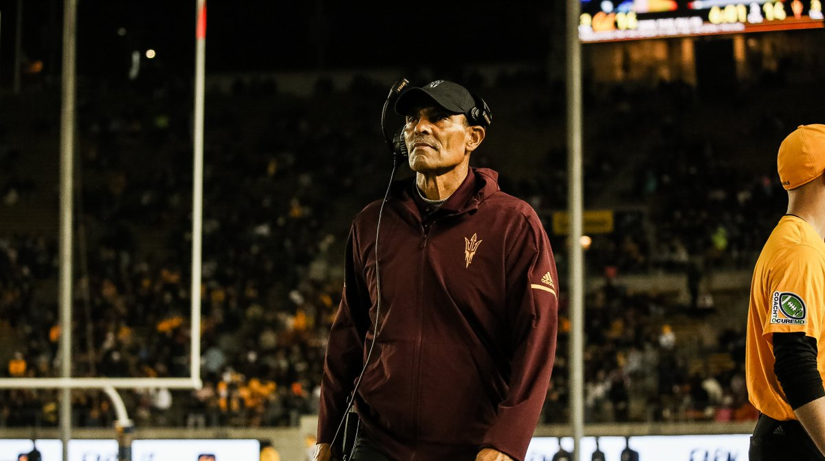 Congrats Coach @HermEdwards on being named @DoddTrophy National Coach of the Week!
