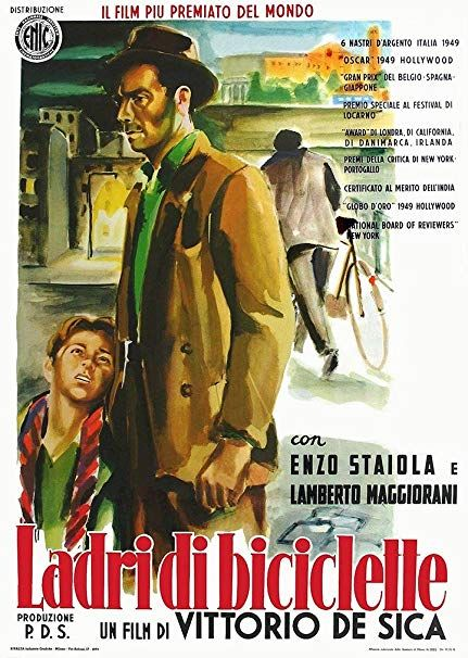 Bicycle Thieves by Vittorio De Sica is the best-known work of Italian neorealism, In 1950 it was deemed the greatest film of all time.  Join our movement! http://theimperfectpicturefilm.com  #moviemonday #filminspiration #byciclethieves #ladridibiciclette #vittoriodesica #italianneorealismpic.twitter.com/IZpsO0Aw3u