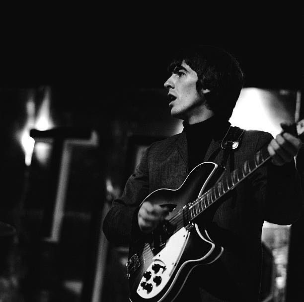 George Harrison is the reason I'm in love with mysterious quiet guitarists and I'll forever stick to that!
