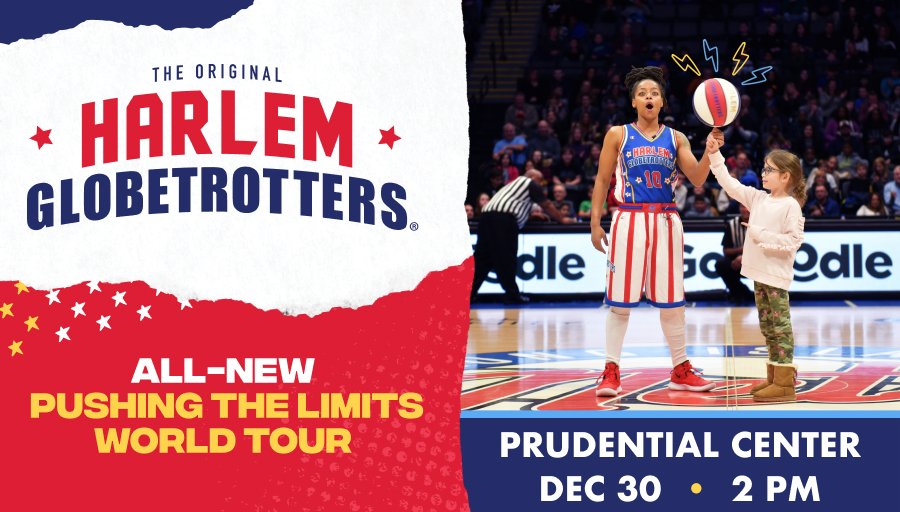 PRESALE tickets for @Globies at #PruCenter on Dec. 30 are NOW AVAILABLE! Use Code: Globetrotters to get yours now!    Presale offer will be up to 30% off established ticket price on various levels.