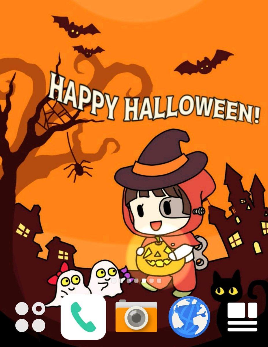 Wadayasu717 W On Twitter メカ節子 せっちゃん 壁紙 Halloween