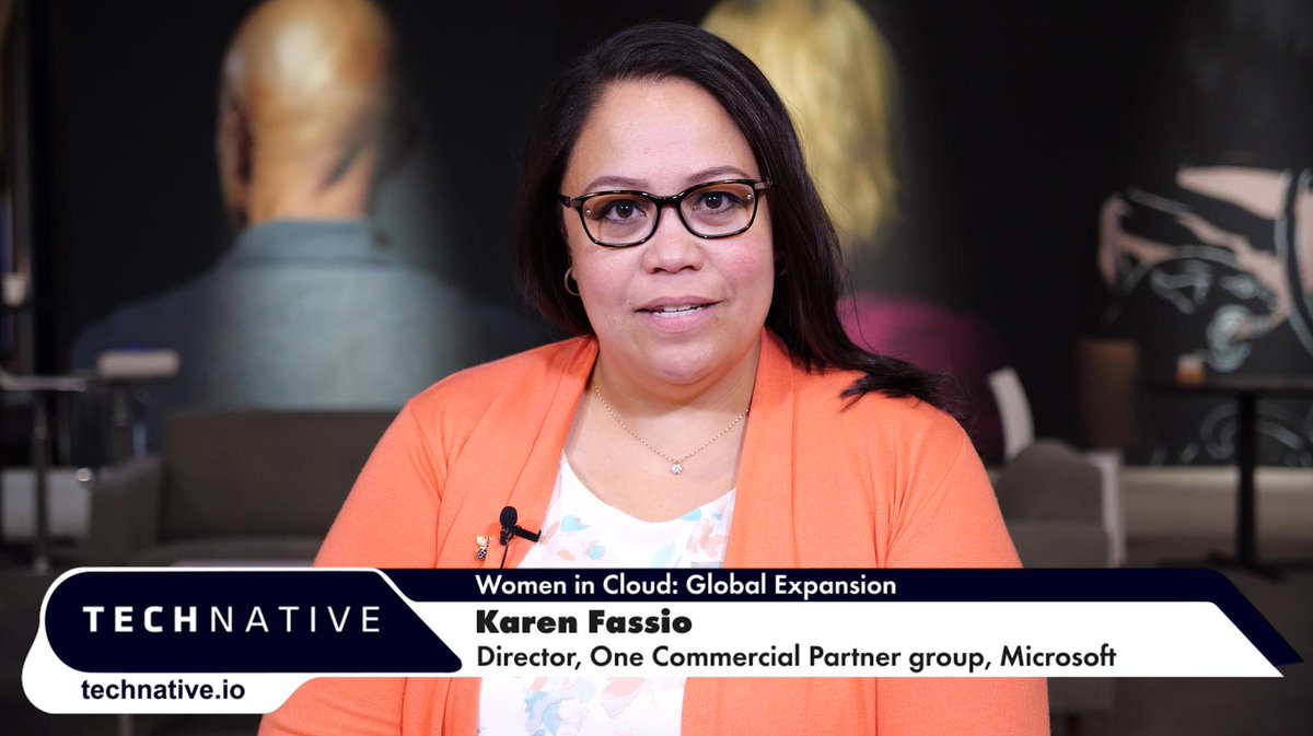 #WomenInCloud #WomenInTechKaren Fassio talks about the global expansion of the #Microsoft-backed @WomenInCloud accelerator.She has an inspiring message for all #FemaleFounders out there.@MicrosoftUK #FutureDecoded #SheSoars #TechNativeTV @TechNative