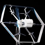 Image for the Tweet beginning: #Amazon's all-#electric #DeliveryDrone is chock-full