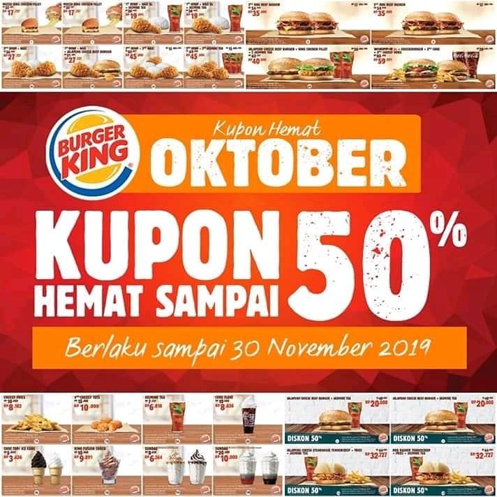 Thread By Bukantoxic Kupon Burger King Bulan Oktober A Thread Baca Sampai Habis Baru Tanya Sumber Burgerking Id Selamat Tanggal Muda Guys Selamat Ulang Tahu