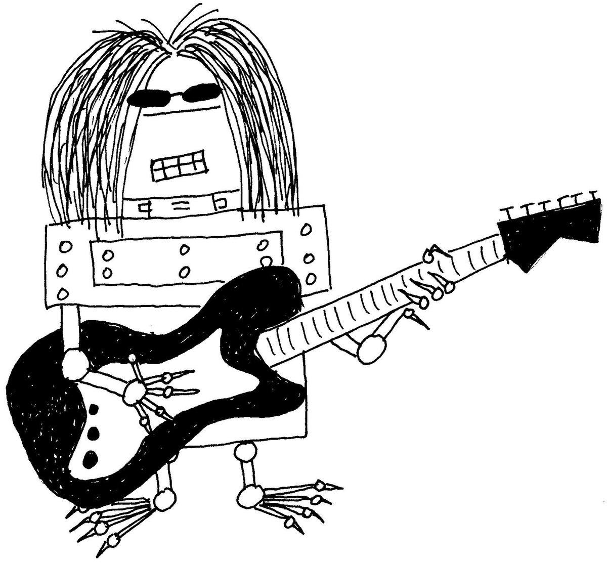 когда картинки гитарист рисунок данный момент