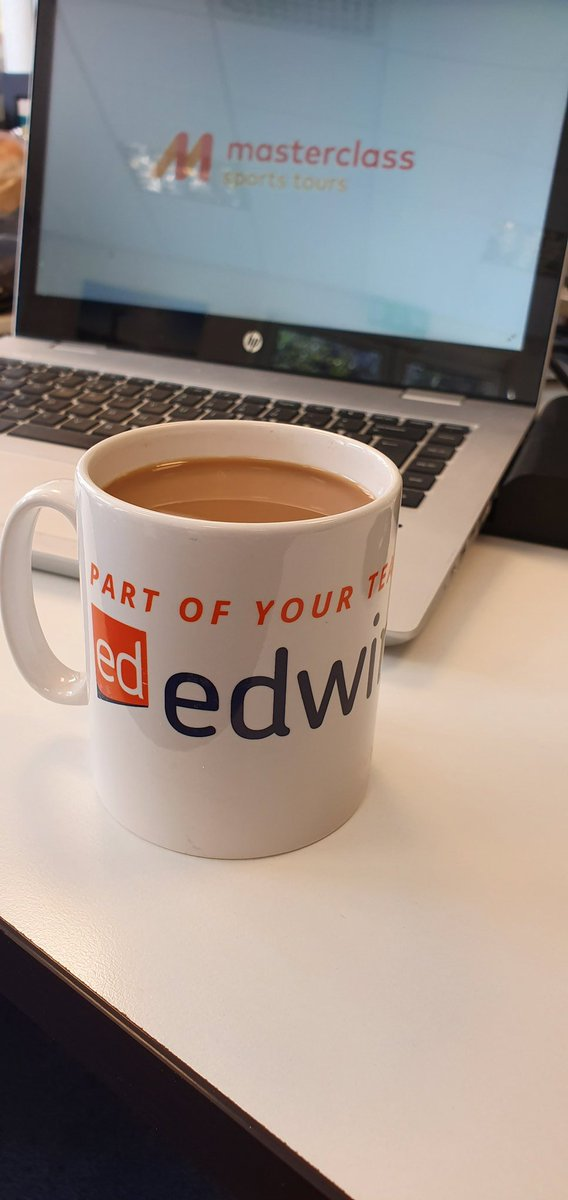 ☕ It's #InternationalCoffeeDay today! Thanks to @edwindoransport for the mugs!! https://t.co/Fo89IU2HtW