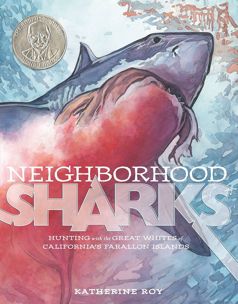 A very happy 5th birthday to my debut book, NEIGHBORHOOD SHARKS! You're ready for kindergarten—who can believe it?? So proud to be your mommy, and so happy to sign and personalize copies for any shark fans through @GrassrootsBooks! #bookbirthday #nonfiction #whitesharks pic.twitter.com/awvqFzffzx