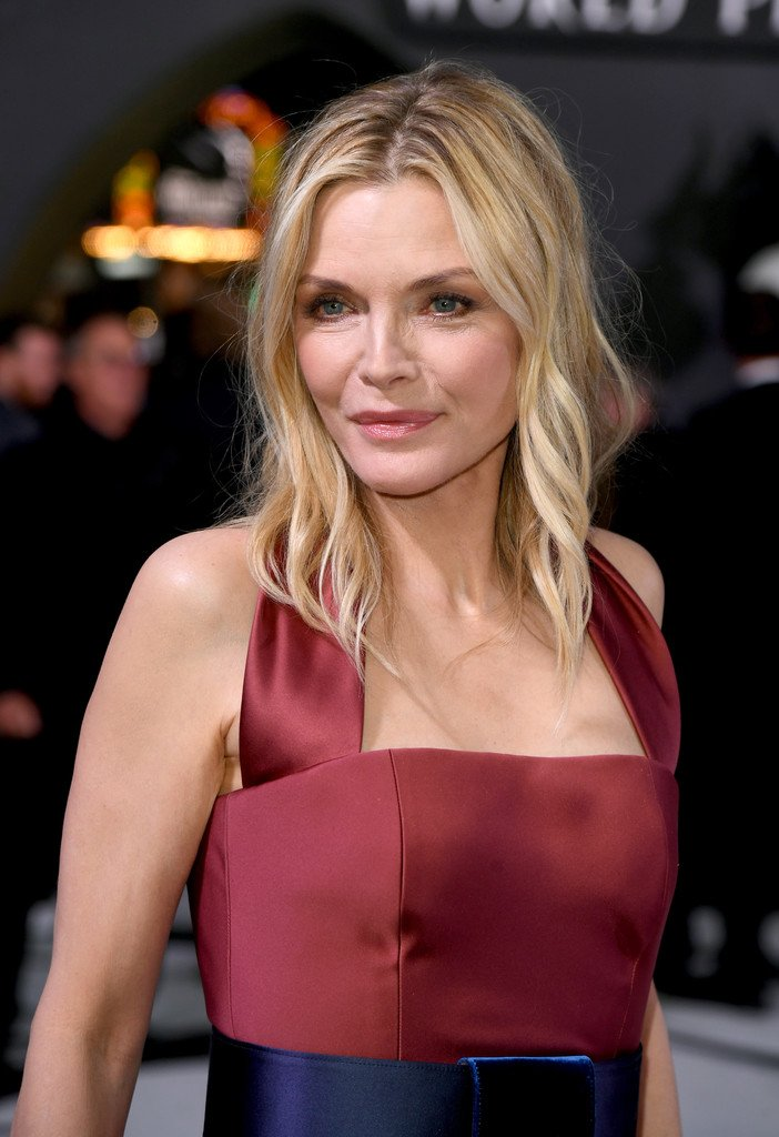 Michelle Pfeiffer Wore Custom Armani Gown Featuring Fall
