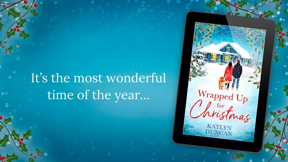 Congrats and happy publication to @katlyn_duncan! Get your hands on the only romance youll need this year, Wrapped Up for Christmas today 📣🚨 amzn.to/34il0IM #WrappedUpForChristmas